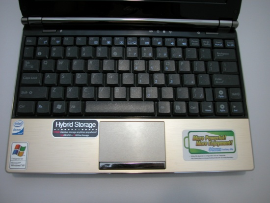 Asus Eee S101H Keyboard