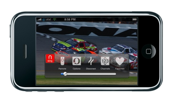 SlingPlayer Mobile for the iPhone