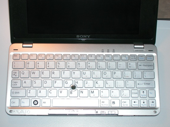 Sony VAIO P Keyboard