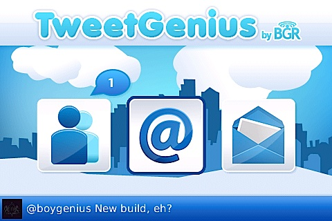 TweetGenius for the BlackBerry