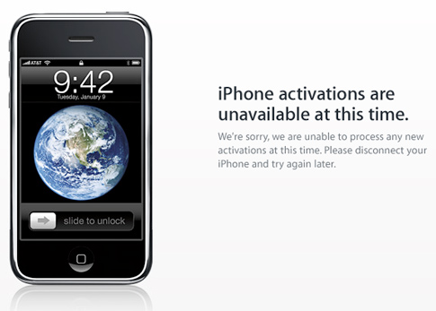 iPhone Activation Unavailable
