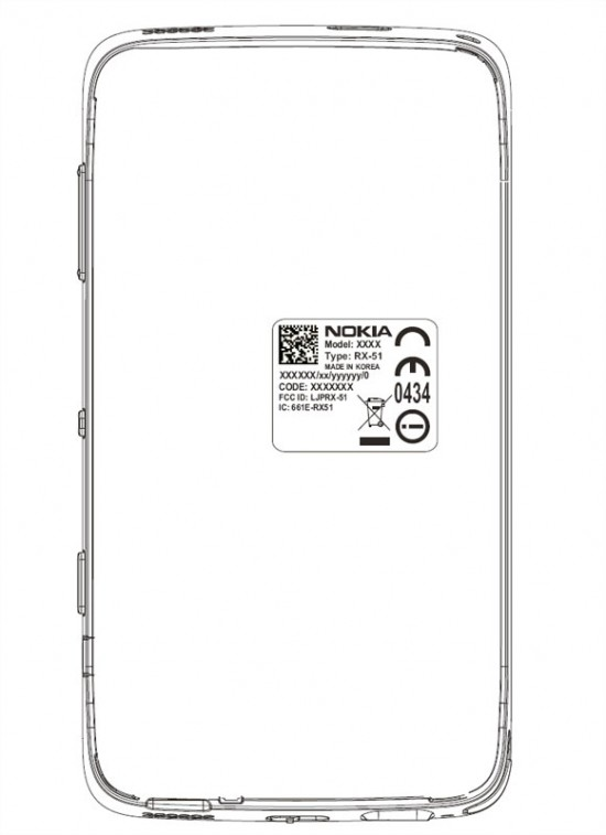 The Nokia RX-51 FCC filing