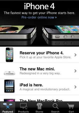 Apple Store for iPhone